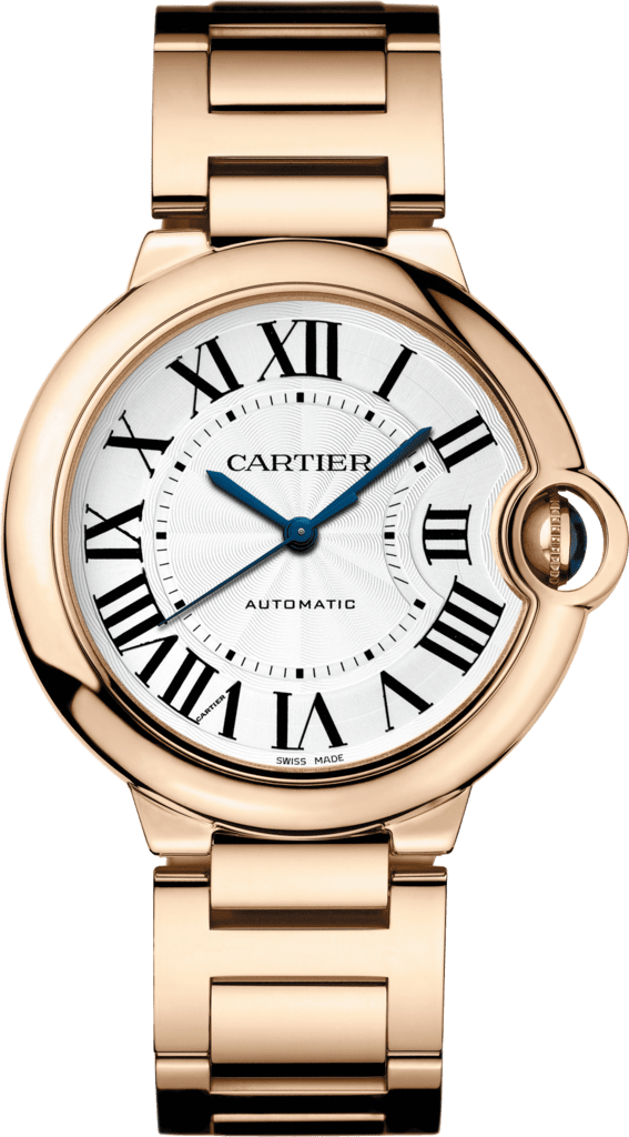 Ballon Bleu de Cartier watch36mm, automatic movement, pink gold