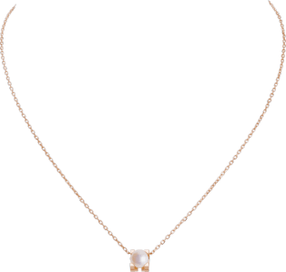C de Cartier necklace Pink gold, pearl