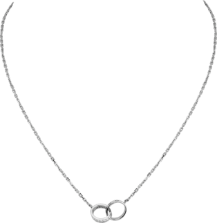 Love necklace, diamonds White gold, diamonds