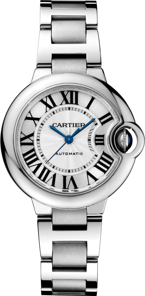 Ballon Bleu de Cartier watch33mm, automatic movement, steel