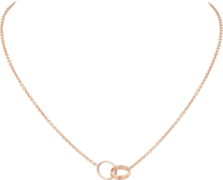 <span class='lovefont'>A </span> necklace Rose gold