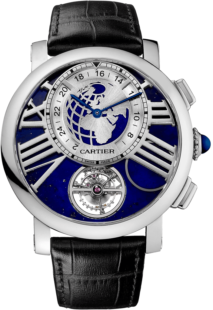 Rotonde de Cartier Earth and Moon watch47 mm, manual, platinum