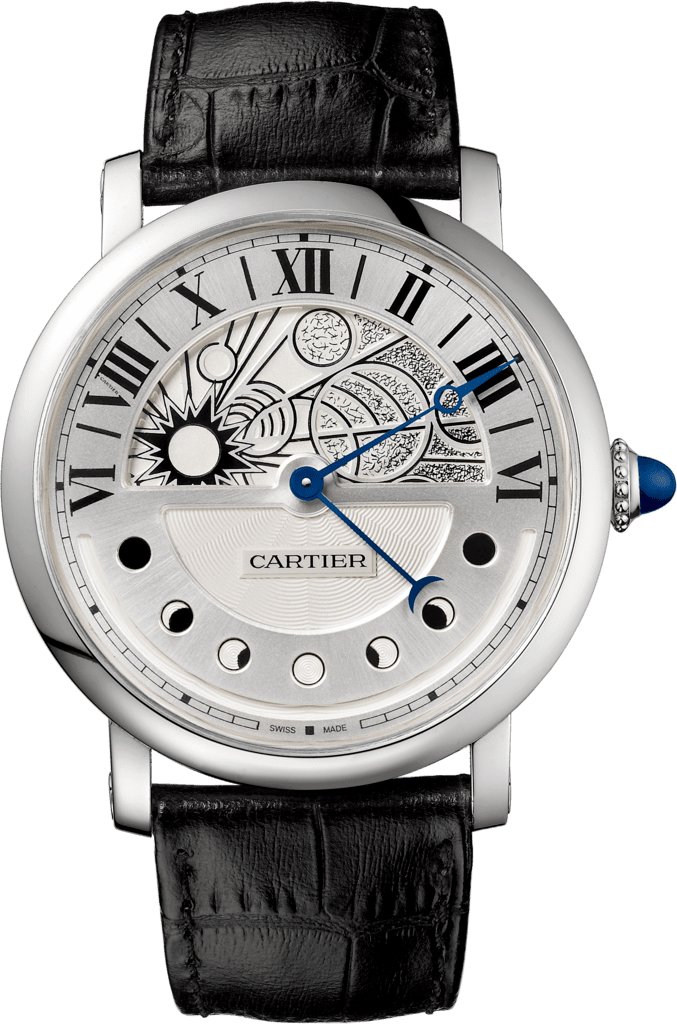 Rotonde de Cartier Day & Night watch43.5 mm, automatic, palladium