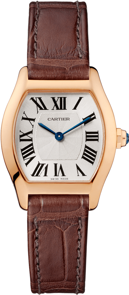 Tortue watchSmall model, pink gold