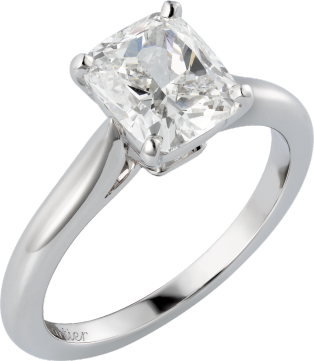 1895 solitaire ring Platinum, diamond