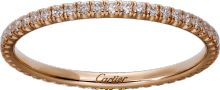 Étincelle de Cartier wedding band Pink gold, diamonds
