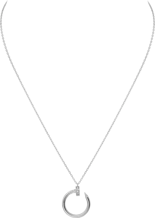 Juste un Clou necklace White gold, diamonds