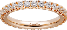 Cartier Destinée wedding band Pink gold, diamonds