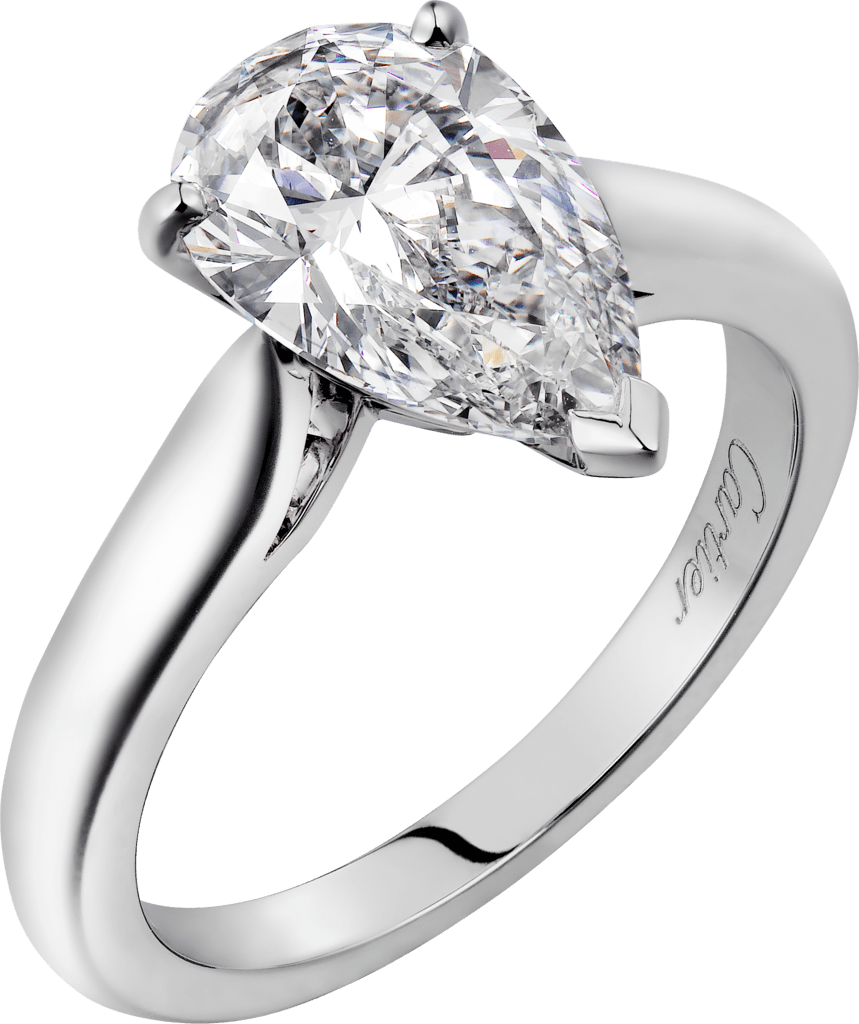 Solitaire 1895Platinum, diamond