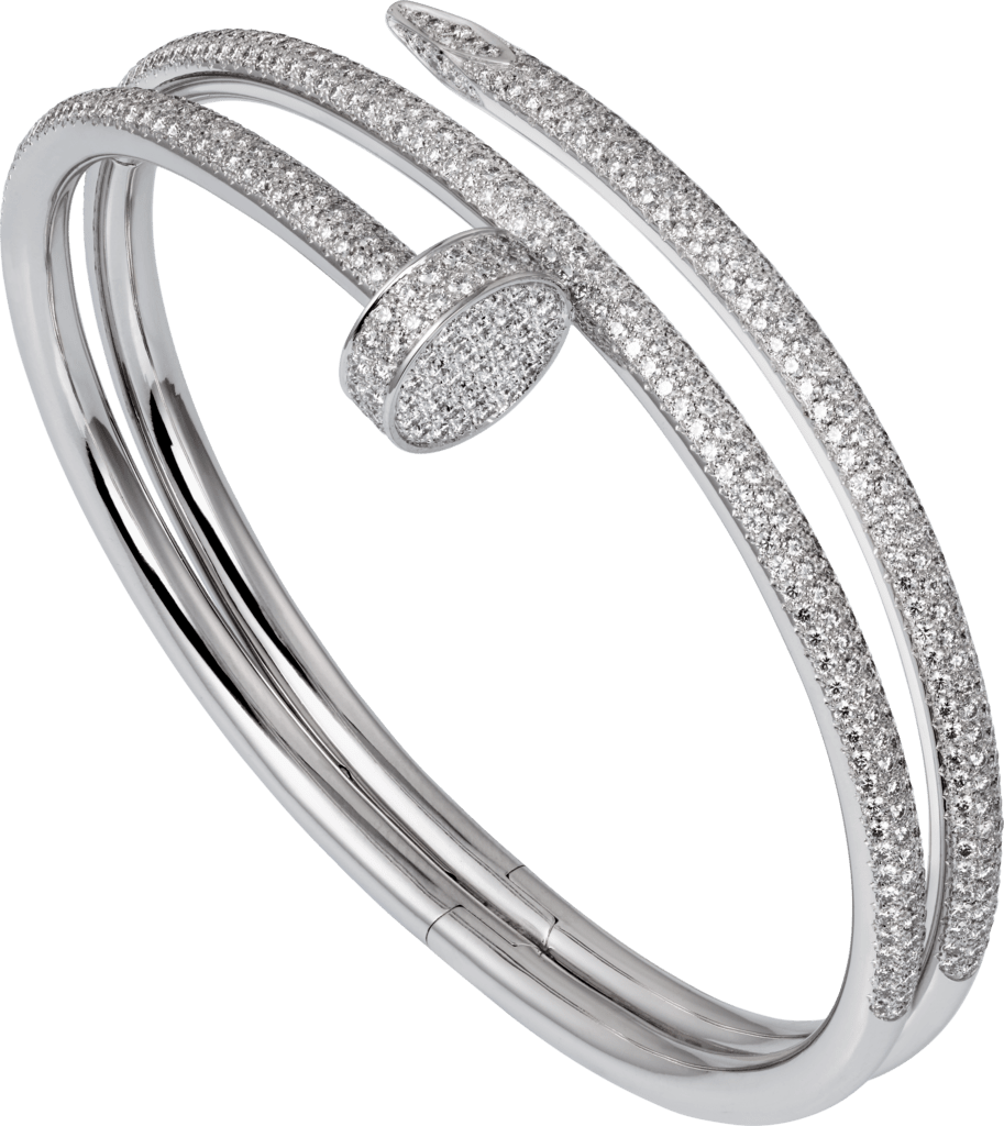 Juste un Clou braceletWhite gold, diamonds