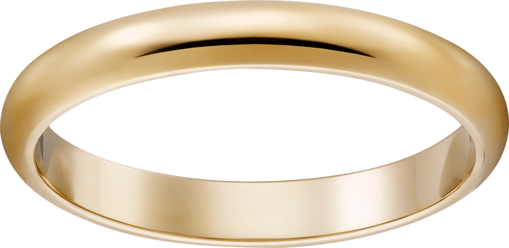 1895 wedding bandYellow gold