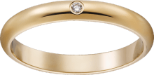 1895 wedding band Yellow gold, diamond