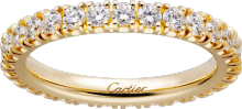 Étincelle de Cartier wedding band Yellow gold, diamonds