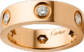 <span class='lovefont'>A </span> ring Rose gold, diamonds