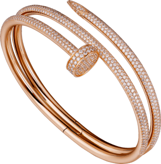 Juste un Clou bracelet Pink gold, diamonds