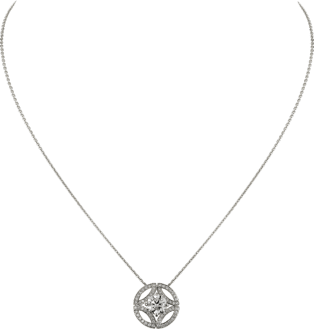 Galanterie de Cartier necklace White gold, diamonds