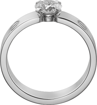 Love Solitaire White gold, diamond